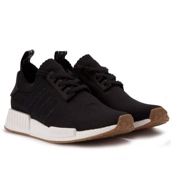 ADIDAS NMD R1 PK GUM PACK BLACK MEN